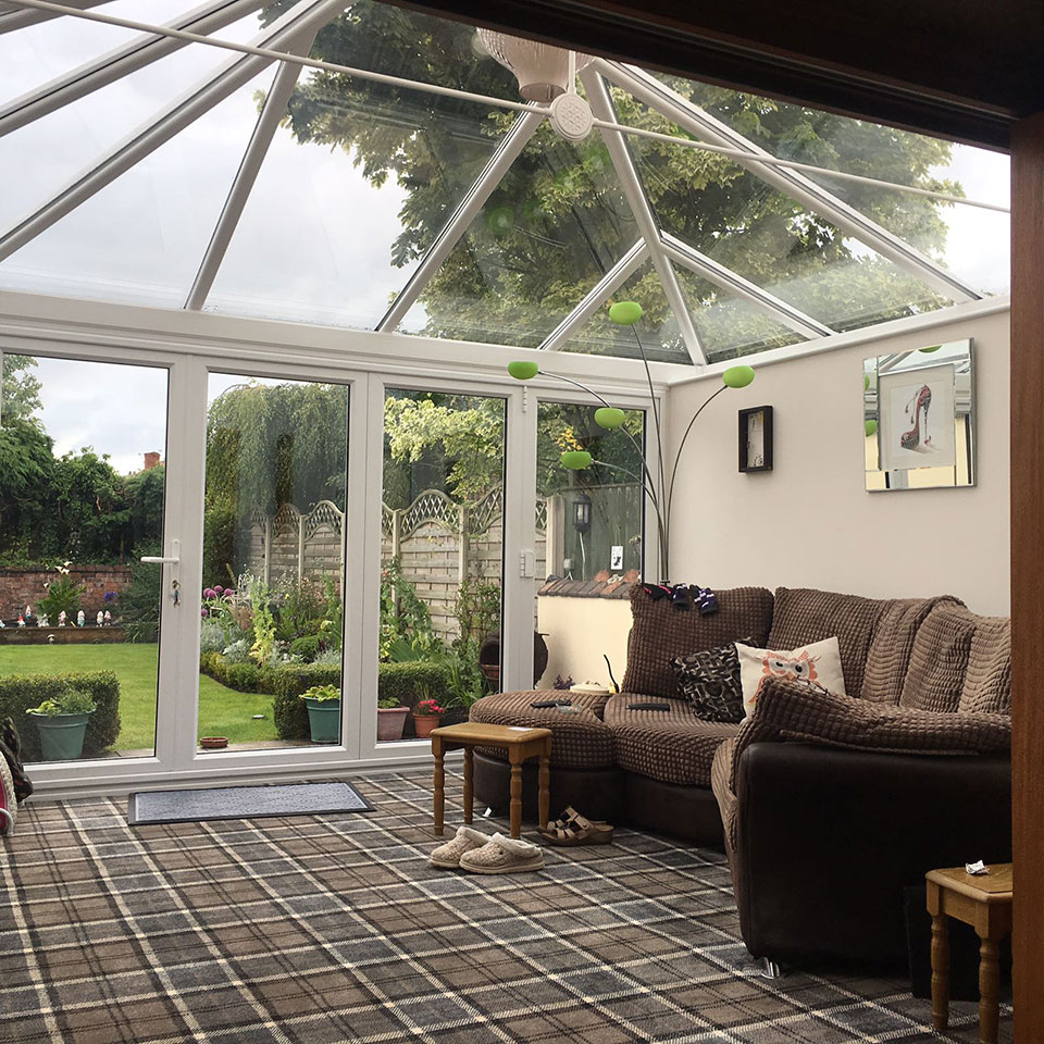 west coast glass glass roof conservatory southport west. Black Bedroom Furniture Sets. Home Design Ideas